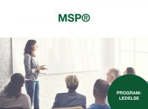MSP, Managing succesful programs
